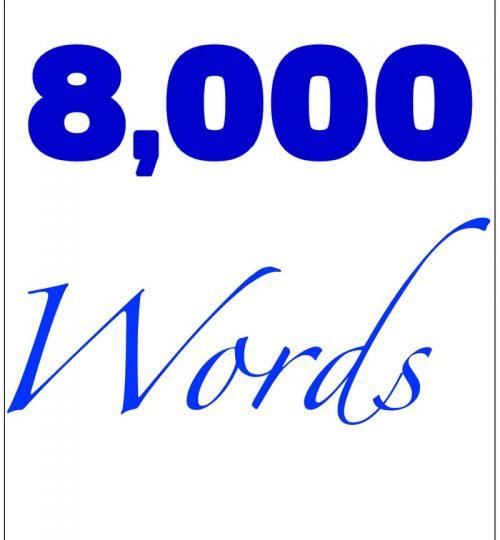 8000 Words